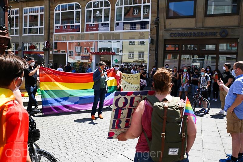 Demonstration am 27.06.2020 in Konstanz