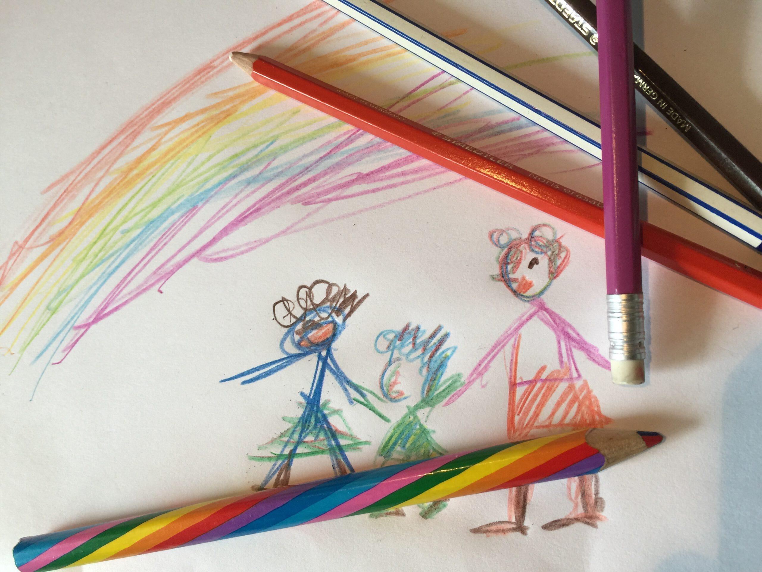Regenbogen-Familie